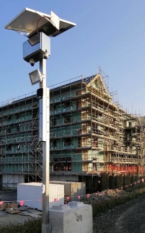 building & developments chose crosbies security to secure this project with a combination of x2 elite series dual lens cameras and sensors