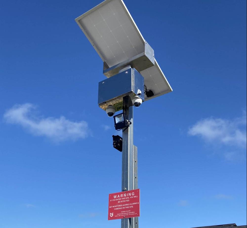 solar time lapse camera