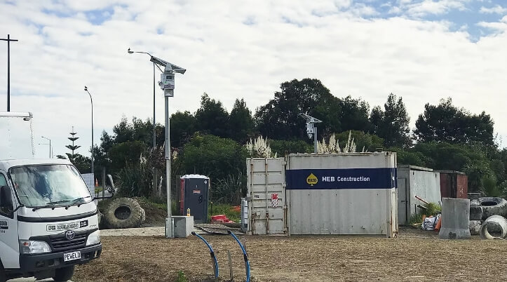 heb construction chose crosbies security to protect puhinui park civil works